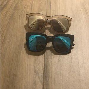 Bundle of Quay reflective sunglasses